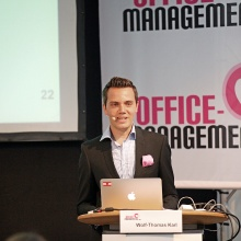 Vortrag auf der Office Management Messe in Basel