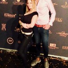 Red Carpet bei Michael Ammer Modelnacht mit TV-Moderatorin und Erotikstar Bettie Ballhaus