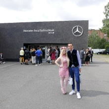 Berlin Fashion Week mit Fashion-Influencer Nadine Trompka